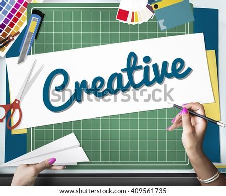 Creative Thinking Creativity Innovation Ideas Concept - stock photo