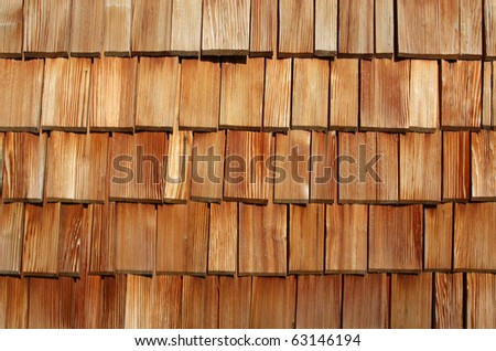 Creative wooden background (wooden tiles) - stock photo