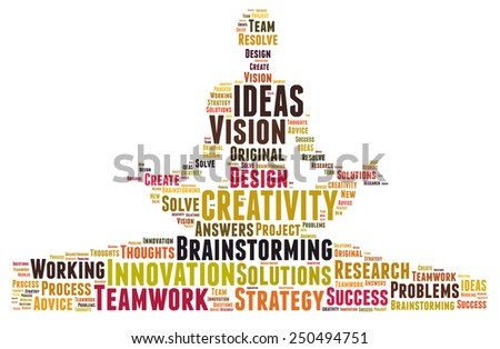 Creativity and ideas and vision