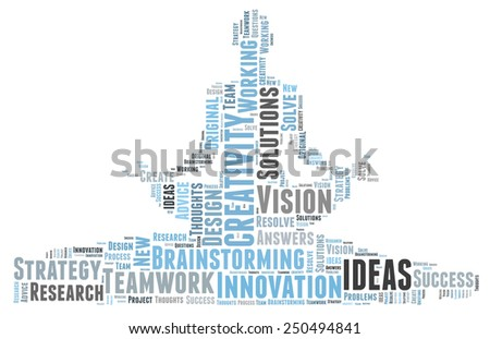 Creativity and ideas and vision - stock photo