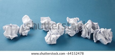 Creativity problems - stock photo