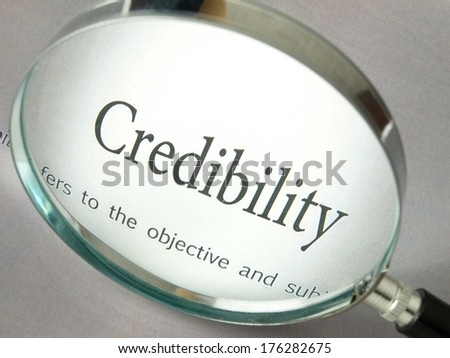 Credibility - Law - stock photo