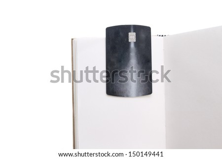 Credit card and note book,travel concept - stock photo