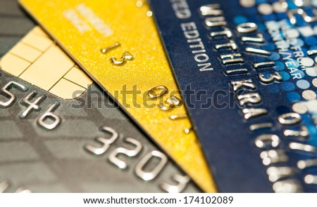 Credit Card Background abstract.  - stock photo