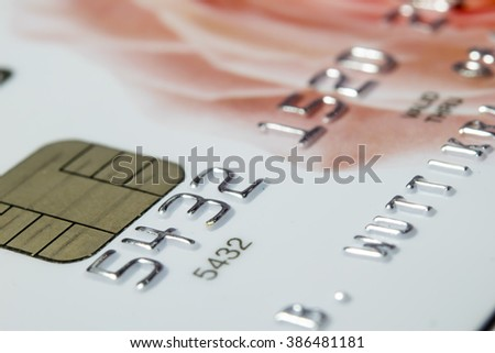 Credit Card Macro shot ( Selective Focus)
