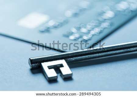Credit card online shopping payment - stock photo