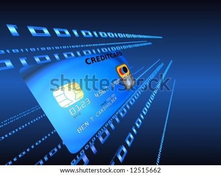 creditcard - stock photo