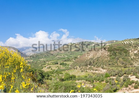 Crete - Greece - Siva - stock photo