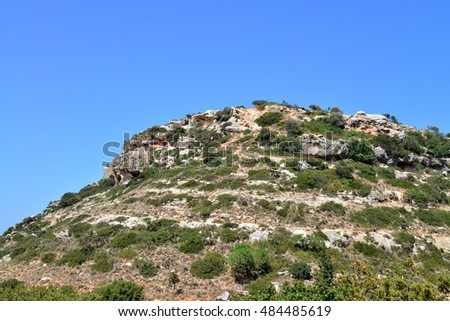 crete greece valley of the forgotten mills mountain peak