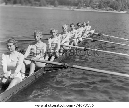 CREW TEAM - stock photo