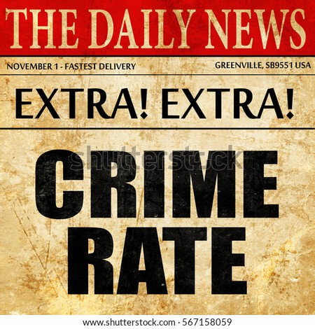 crime level articles