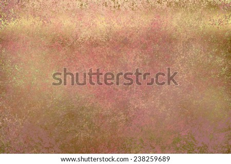 Crimson golden abstract  background , with   painted  grunge background texture for  design