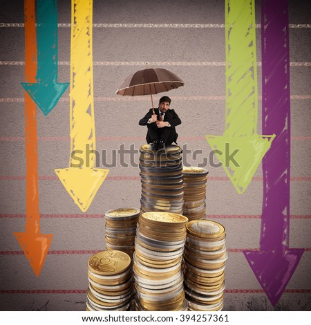 Crisis and depression - stock photo