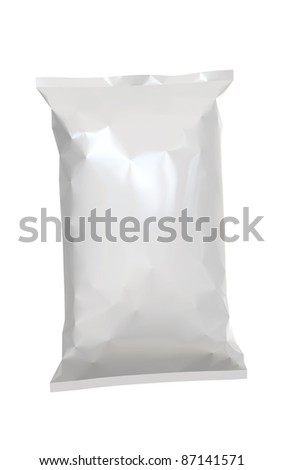 crisp-bag - stock photo