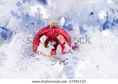 cristmas tree decoration - stock photo