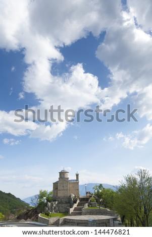 Crkva sv mucenika Stanka, orthodox church - stock photo