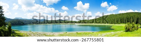 Crno Jezero, Montenegro - stock photo