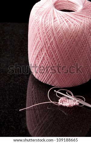 Crochet - stock photo