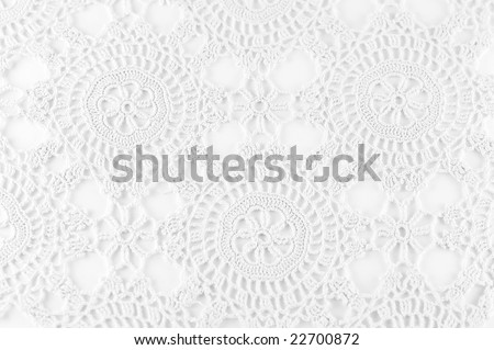 Crochet background - stock photo