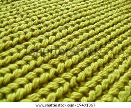 Crochet closeup. More fabrics in my port. - stock photo