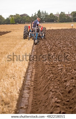 Massey Ferguson Tractor Stock Images Royalty Free Images