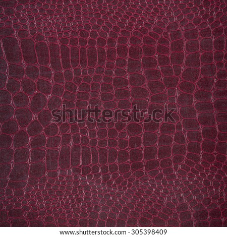 Crocodile leather with colorful background