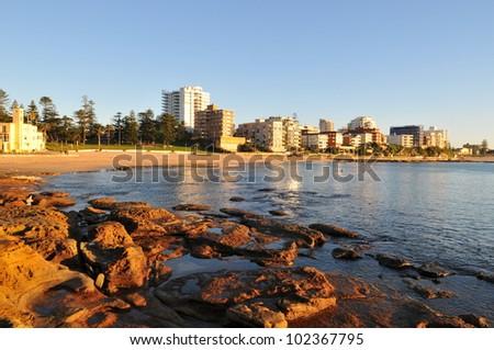 Cronulla  australia beachside - stock photo
