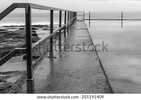 Cronulla Ocean Pool - stock photo