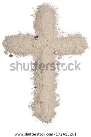 Cross. - stock photo
