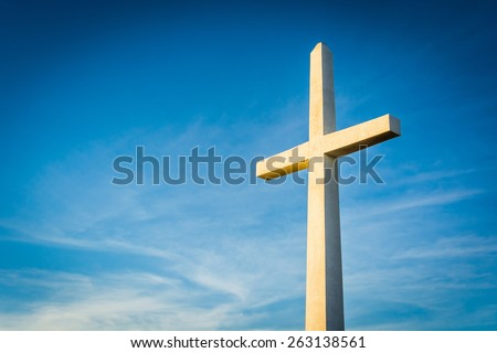Cross at Mount Rubidoux Park, in Riverside, California.