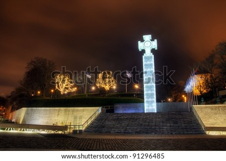 Cross of Liberty - stock photo