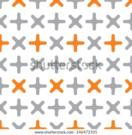 Cross pattern - stock photo