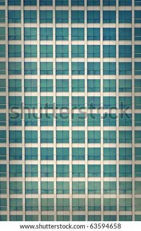 Cross Process of Abstract windows pattern - stock photo