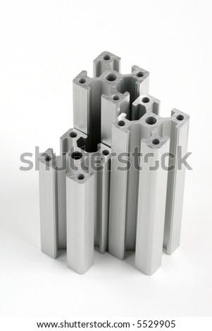 Cross-section bar - stock photo
