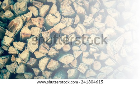 Cross section of the timber vintage tone for the background.with space for text. - stock photo