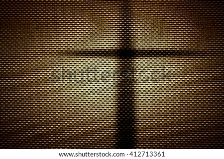 Cross with light in dark,Faith belief and hope concept - stock photo