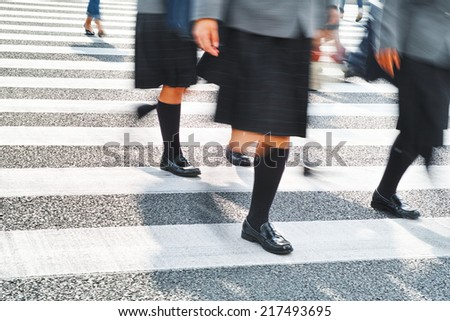 Crossing - stock photo