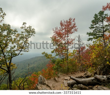 Crowders Mountain Fall View
