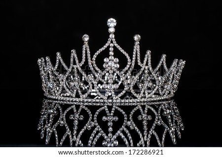 Crown Miss Contest - stock photo