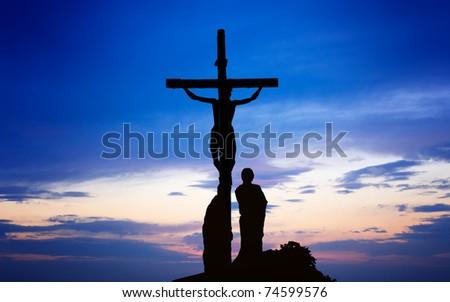 Crucifix - stock photo