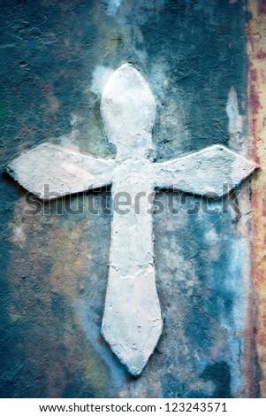 Crucifix  in Meridian - stock photo