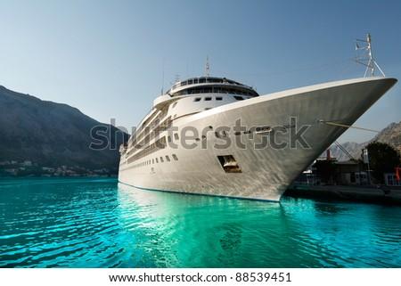 Cruise boat - stock photo