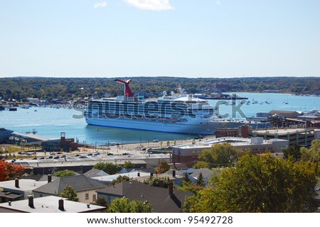 Cruise in the Harbor, Portland, Maine, USA