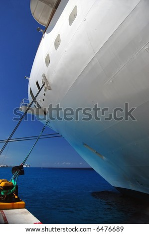 Cruise Ship Moored - see more in portfolio - stock photo
