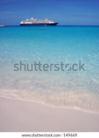 cruiseliner 2 - stock photo