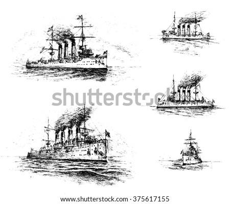 Cruisers - stock photo