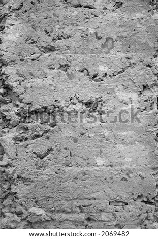 Concrete crumbles stock photos images pictures for Crumbling concrete floor