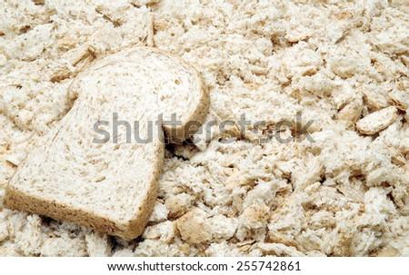 crumbs - stock photo