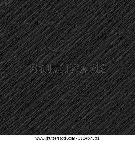 Crumpled Black Paper texture - stock photo