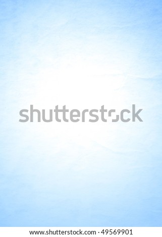 crumpled blue background - stock photo